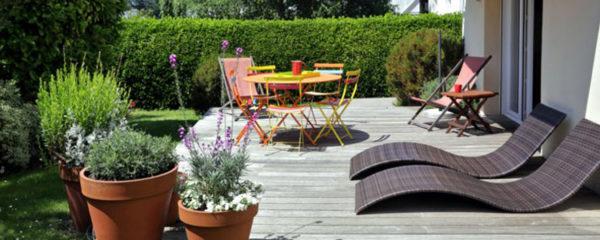 Aménagement de sa terrasse